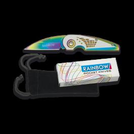 Navaja Rainbow.  Hoja: 6.4 cm  18181