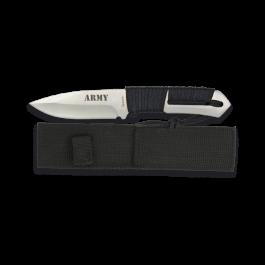Cuchillo Albainox Encordado. Army. 9.8 h 32255