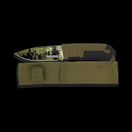 cuchillo Albainox 3D Soldier. hoja: 9.8 32289
