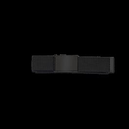 Cinturon Negro Hebilla negra  33882-NE