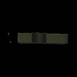cinturon verde hebilla negra  33882-VE