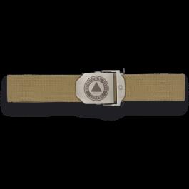 Cinturon verde hebilla metalica P. Civil  33883TGR4015
