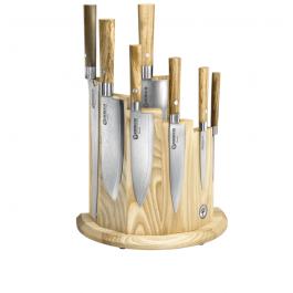 Taco de cuchillos Boker Modelo DAMAST OLIVO 130445SET