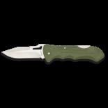 Navaja Albainox ABS Verde Clip.  hoja: 8 18024