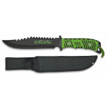 cuchillo Mad Zombie con funda nylon. 20. 2 31978