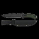 cuchillo Albainox verde.  Hoja: 19. 5 32114