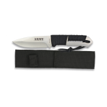 Cuchillo Albainox Encordado. Army. 9.8 h 32255