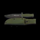 Cuchillo táctico Midway Green. H: 18cm 32286
