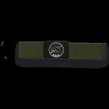 Cinturon verde hebilla negra OES  33882VGR4002