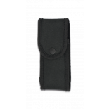 Funda nylon acolchada 14 x 6 cm. Negra  34432