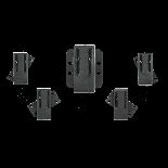 Adaptador Giro-lock para fundas Kydex Cudeman 637TK